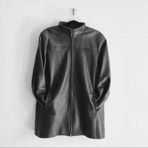 DANIER | Leather Jacket Women's Black Spring Moto